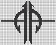Alpha pattern #9635