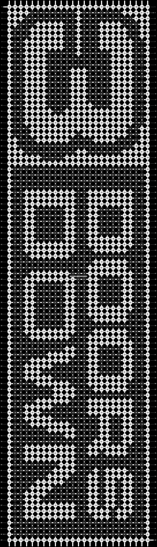 Alpha pattern #9645 pattern