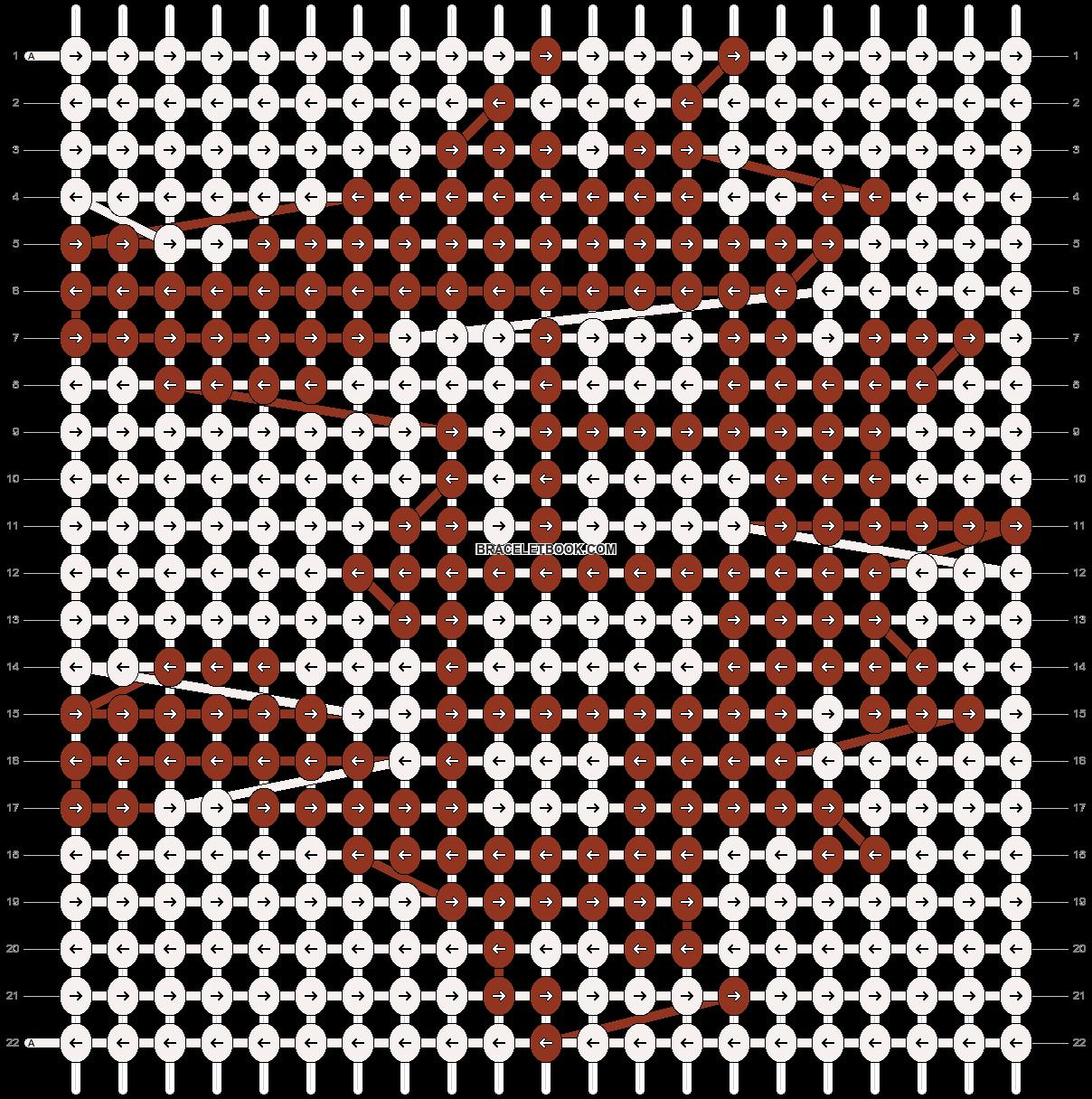 Alpha pattern #9646 pattern