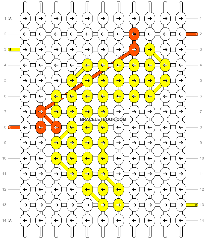 Alpha pattern #9647 pattern