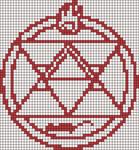 Alpha pattern #9651