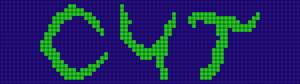 Alpha pattern #9657