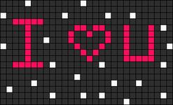 Alpha Friendship Bracelet Pattern #9664