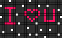 Alpha pattern #9664