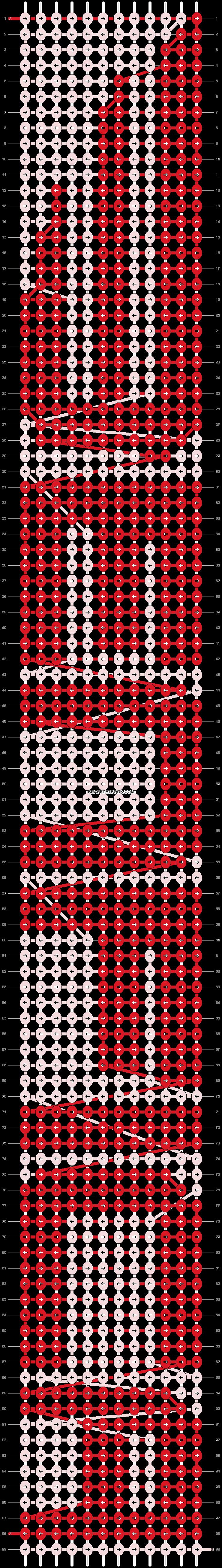 Alpha pattern #9675 pattern