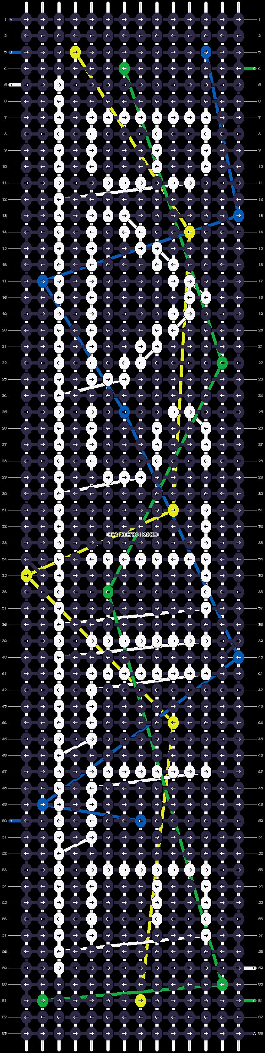 Alpha pattern #9676 pattern
