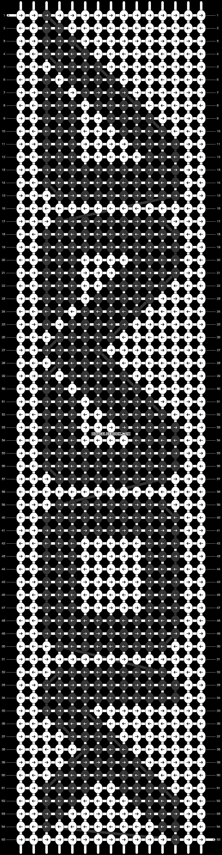 Alpha pattern #9680 pattern