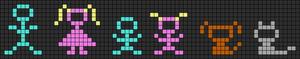 Alpha pattern #9689
