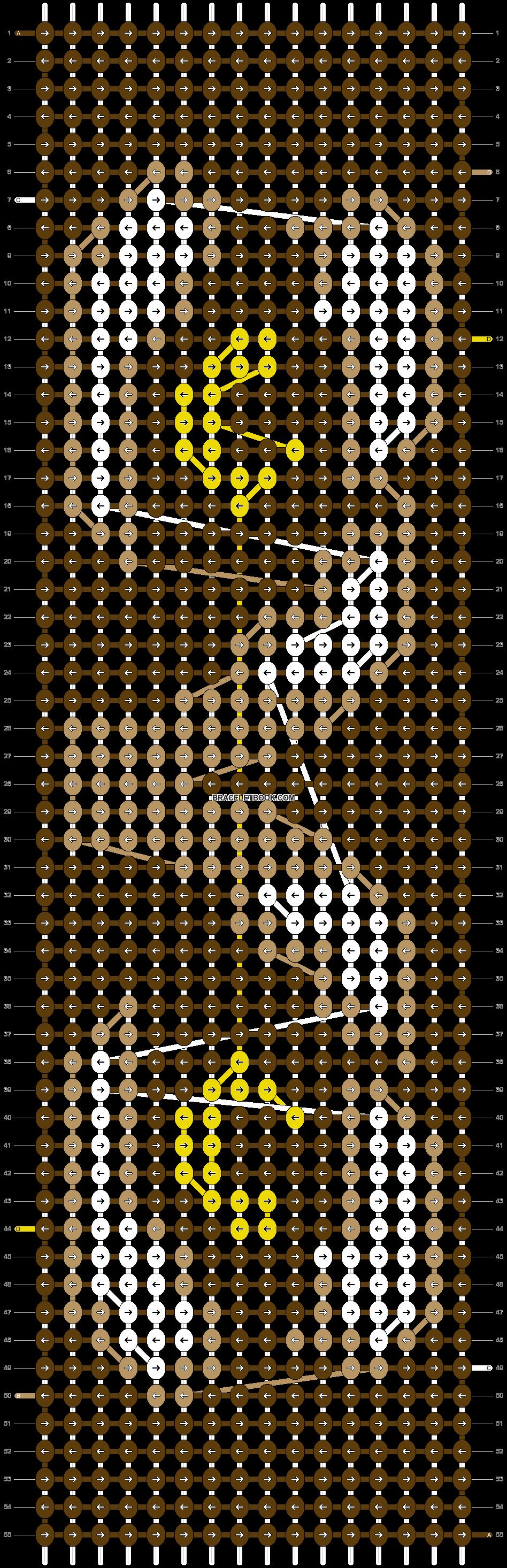 Alpha pattern #9690 pattern