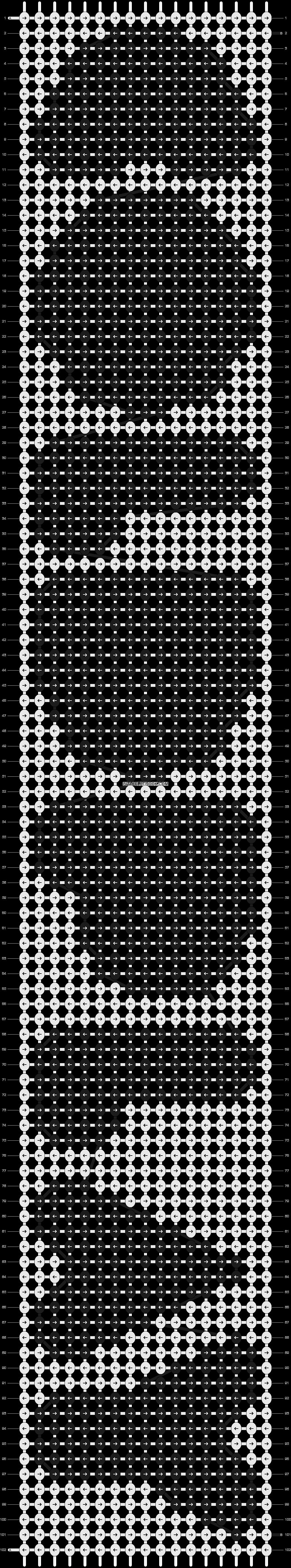 Alpha pattern #9691 pattern