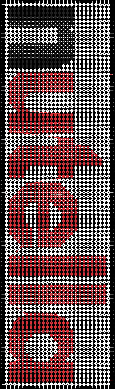 Alpha pattern #9692 pattern