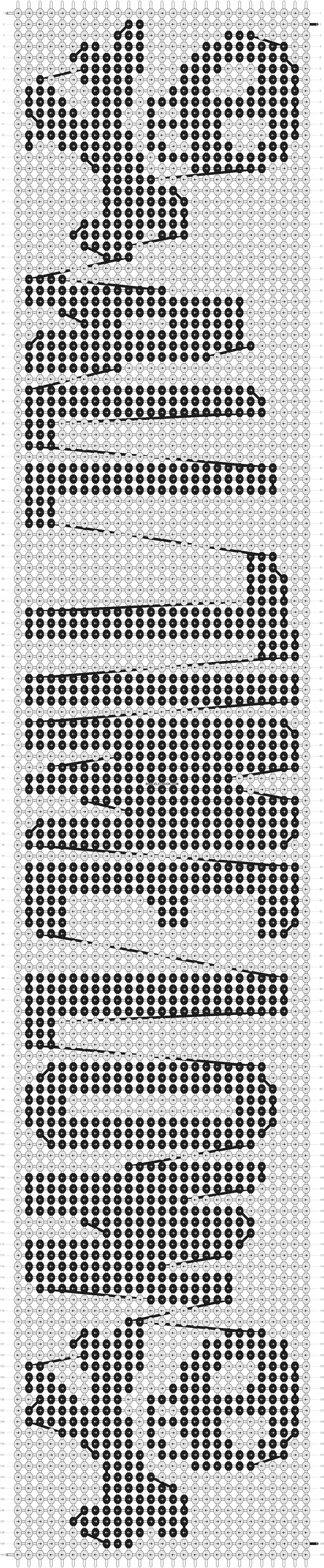 Alpha pattern #9704 pattern