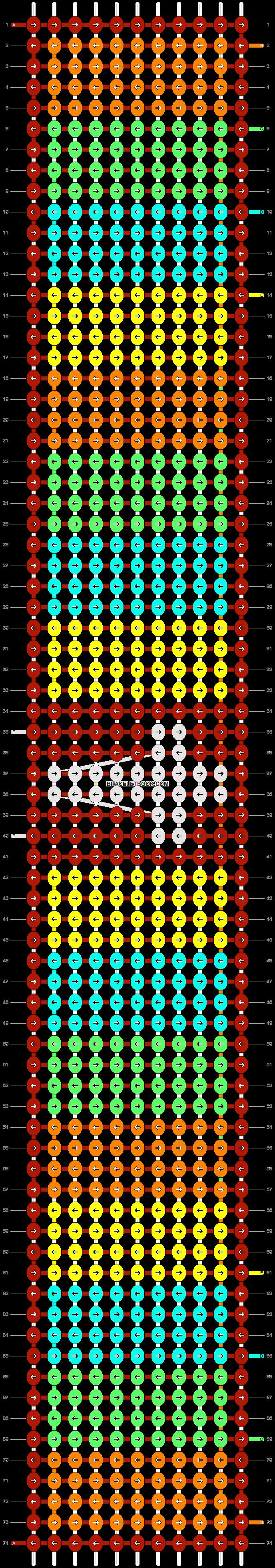 Alpha pattern #9705 pattern