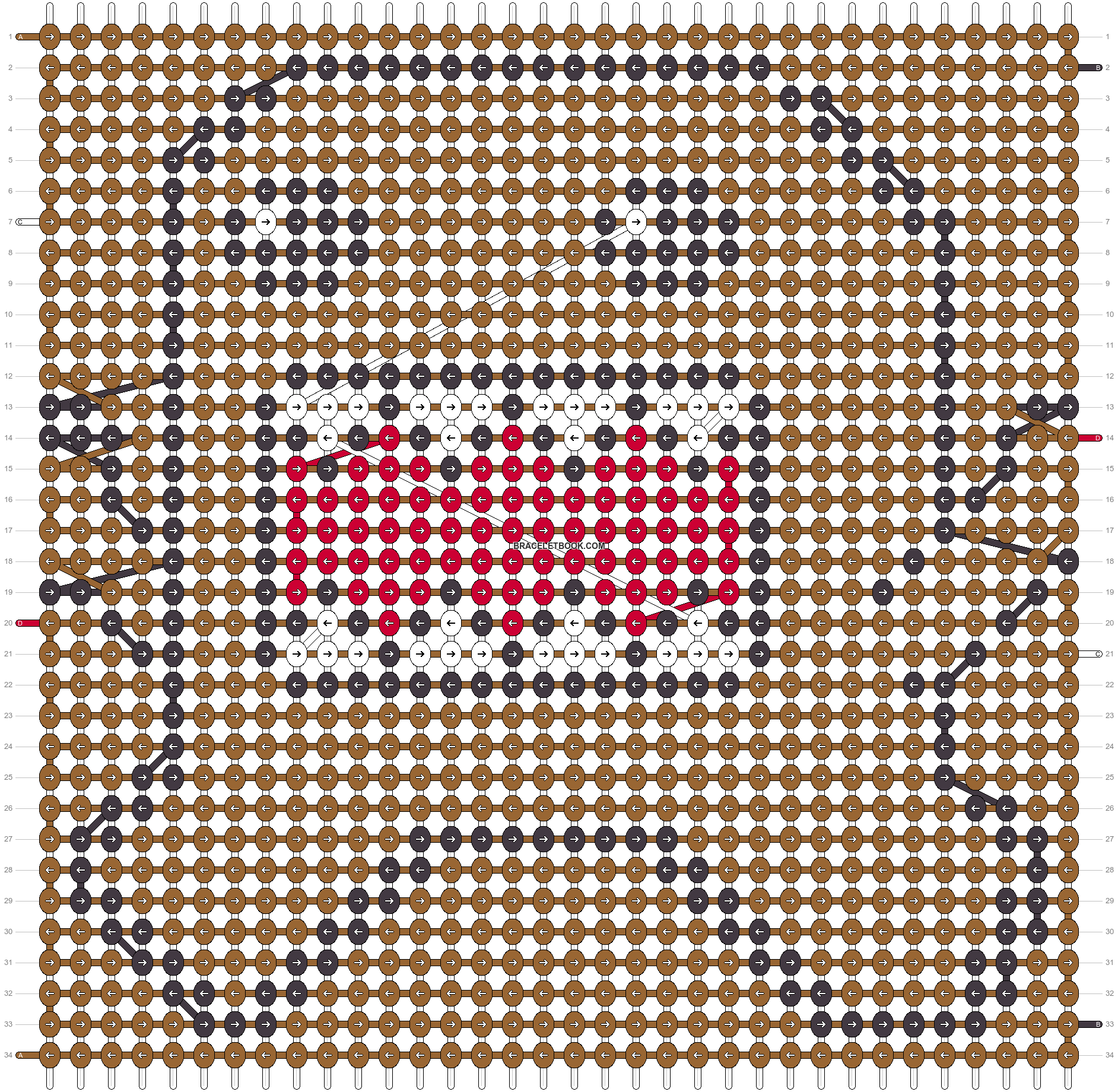 Alpha pattern #9714 pattern