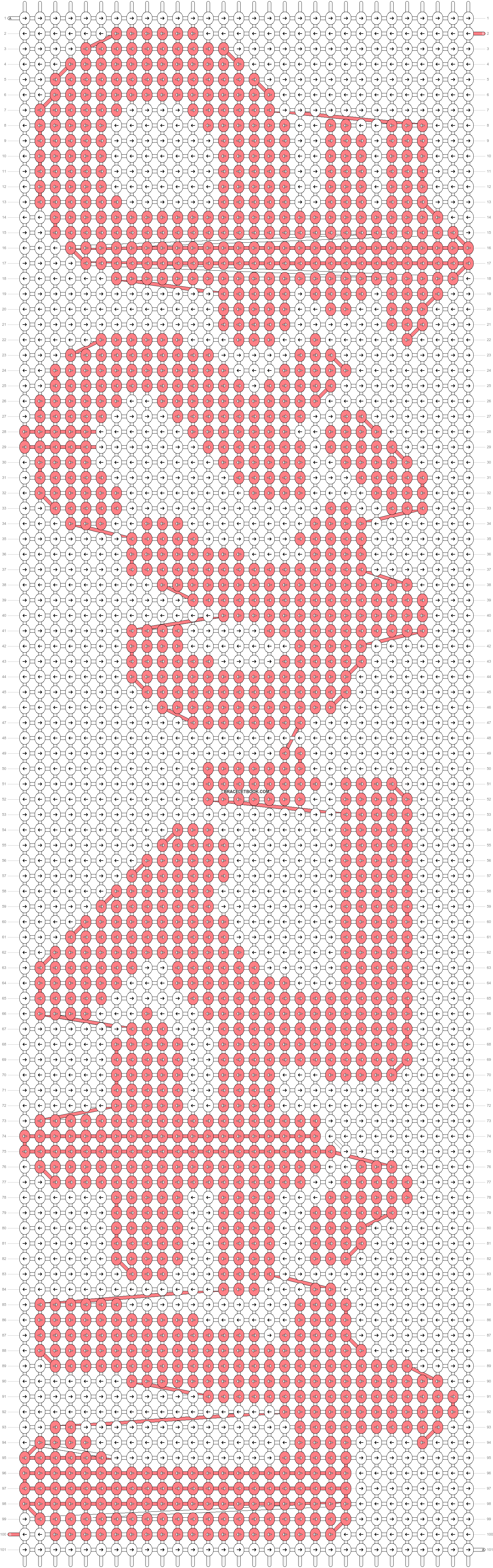 Alpha pattern #9719 pattern