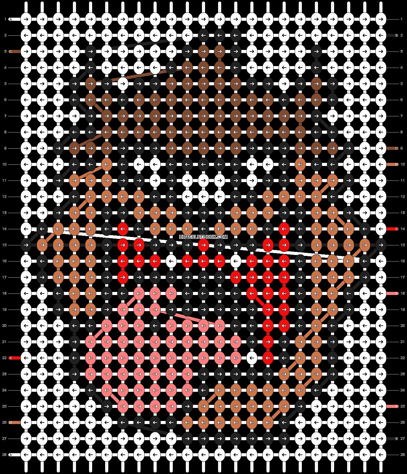 Alpha pattern #9720 pattern