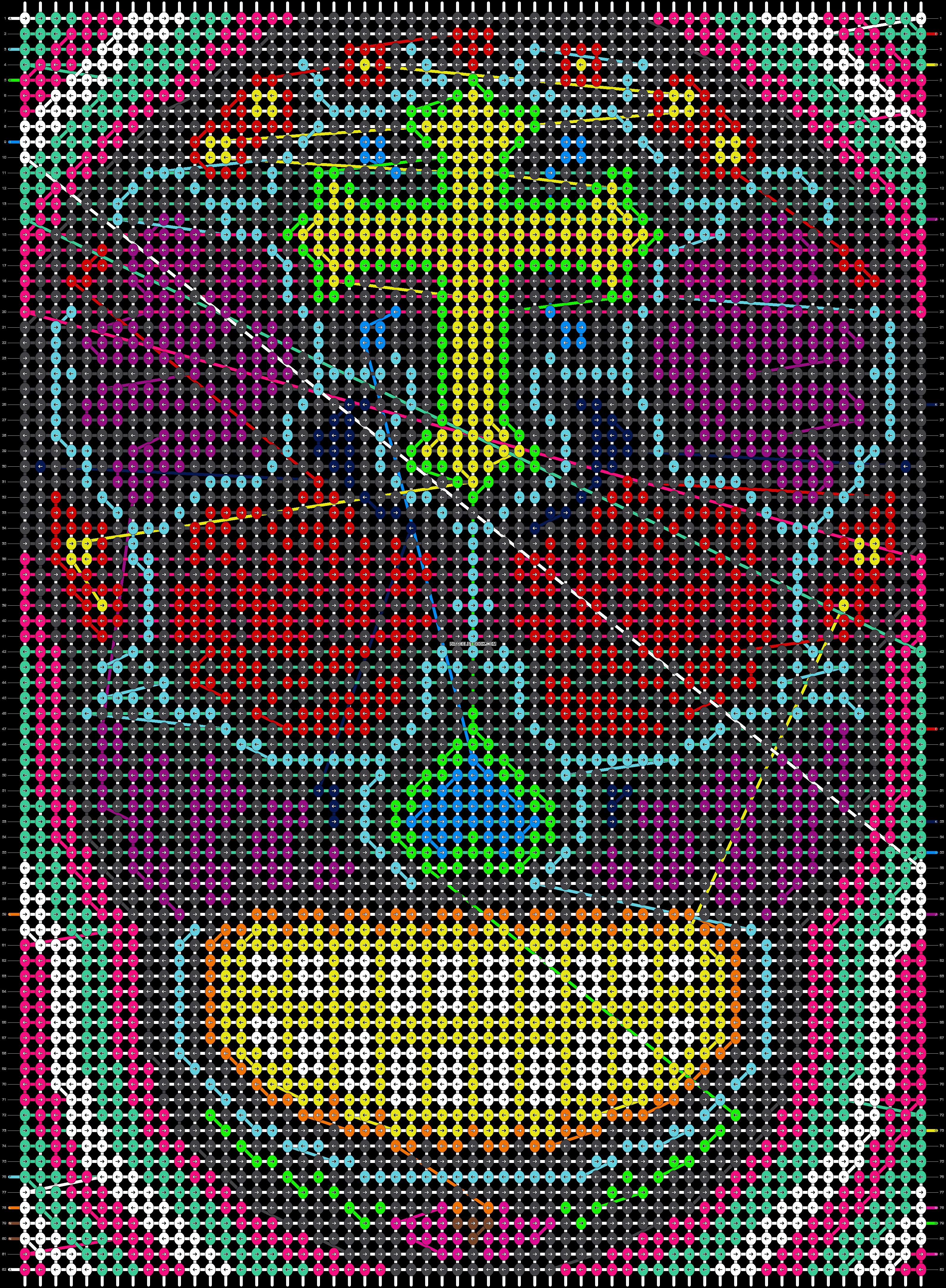 Alpha pattern #9723 pattern