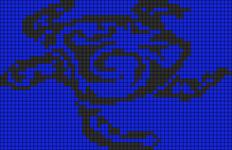 Alpha pattern #9724