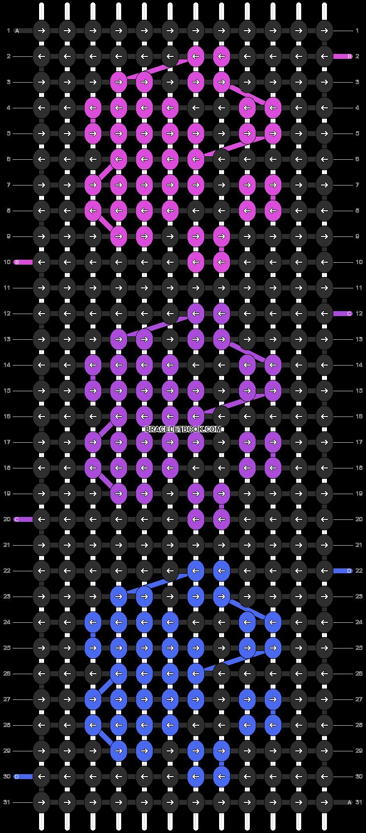 Alpha pattern #9730 pattern