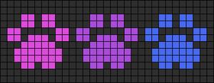 Alpha pattern #9730