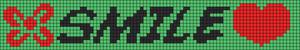 Alpha Friendship Bracelet Pattern #9732