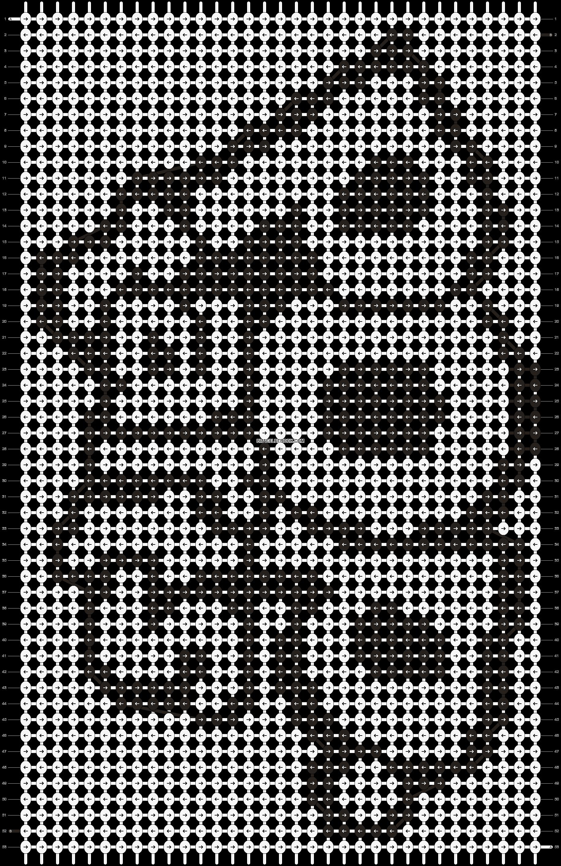 Alpha pattern #9734 pattern
