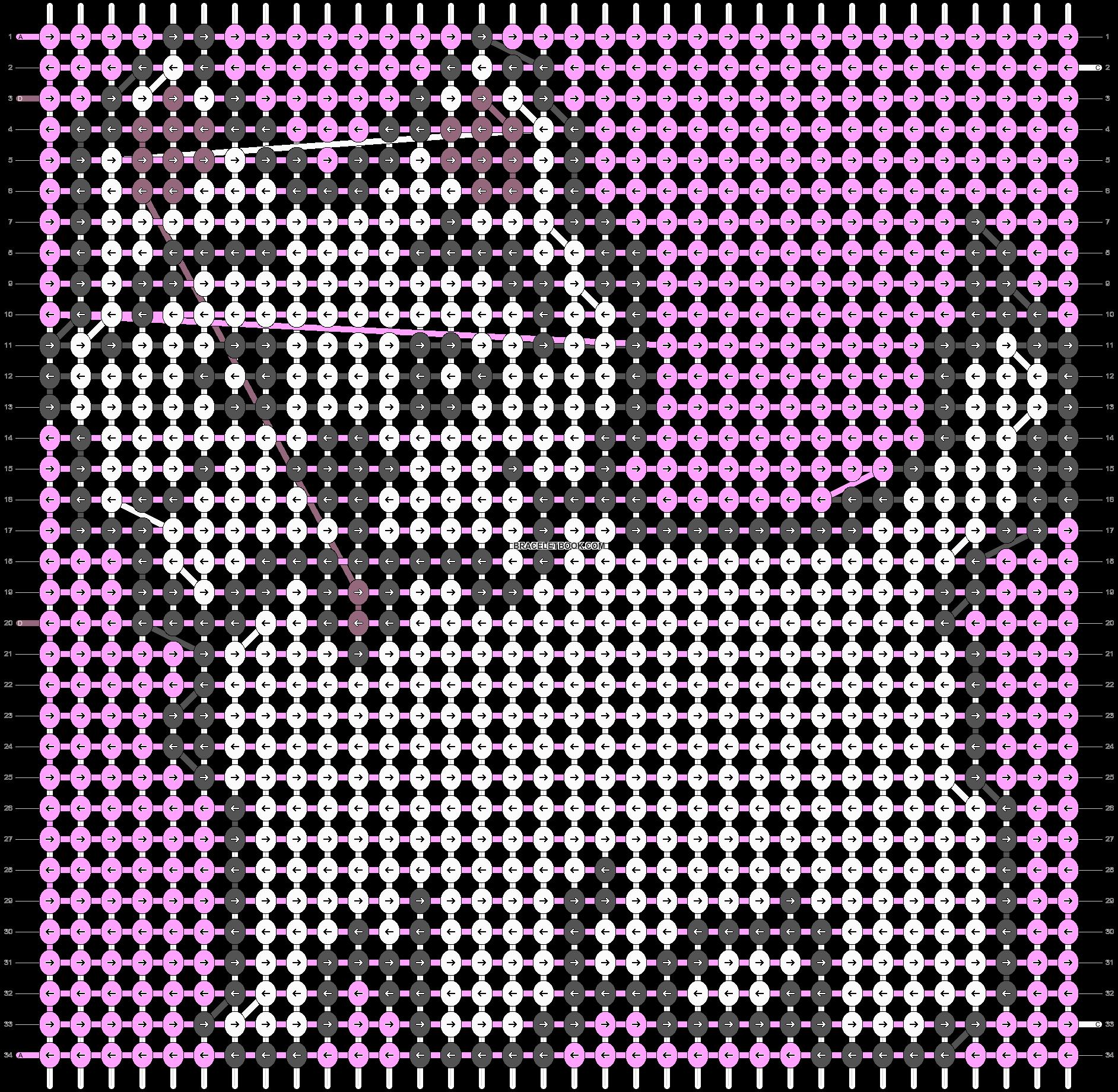 Alpha pattern #9735 pattern