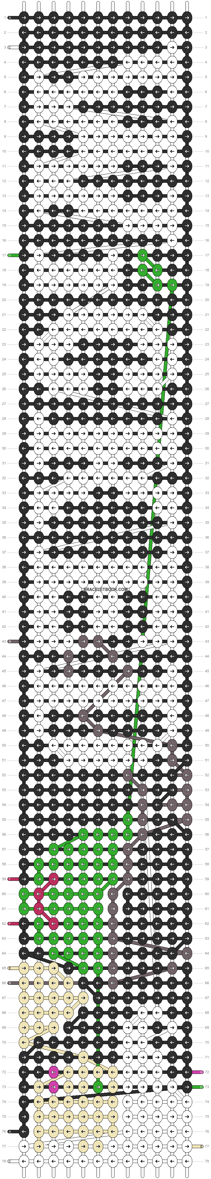 Alpha pattern #9737 pattern