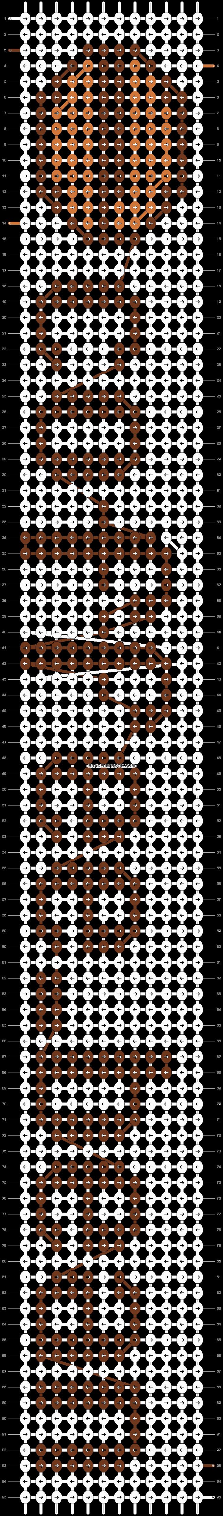 Alpha pattern #9742 pattern