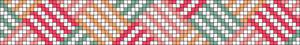 Alpha Friendship Bracelet Pattern #9746