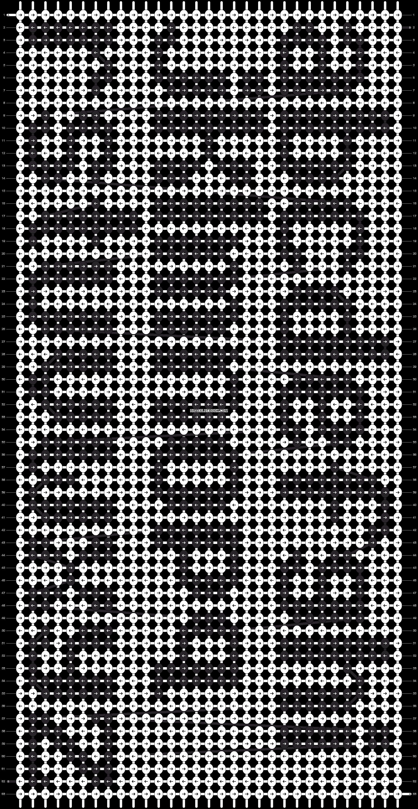 Alpha pattern #9774 pattern