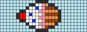 Alpha pattern #9778