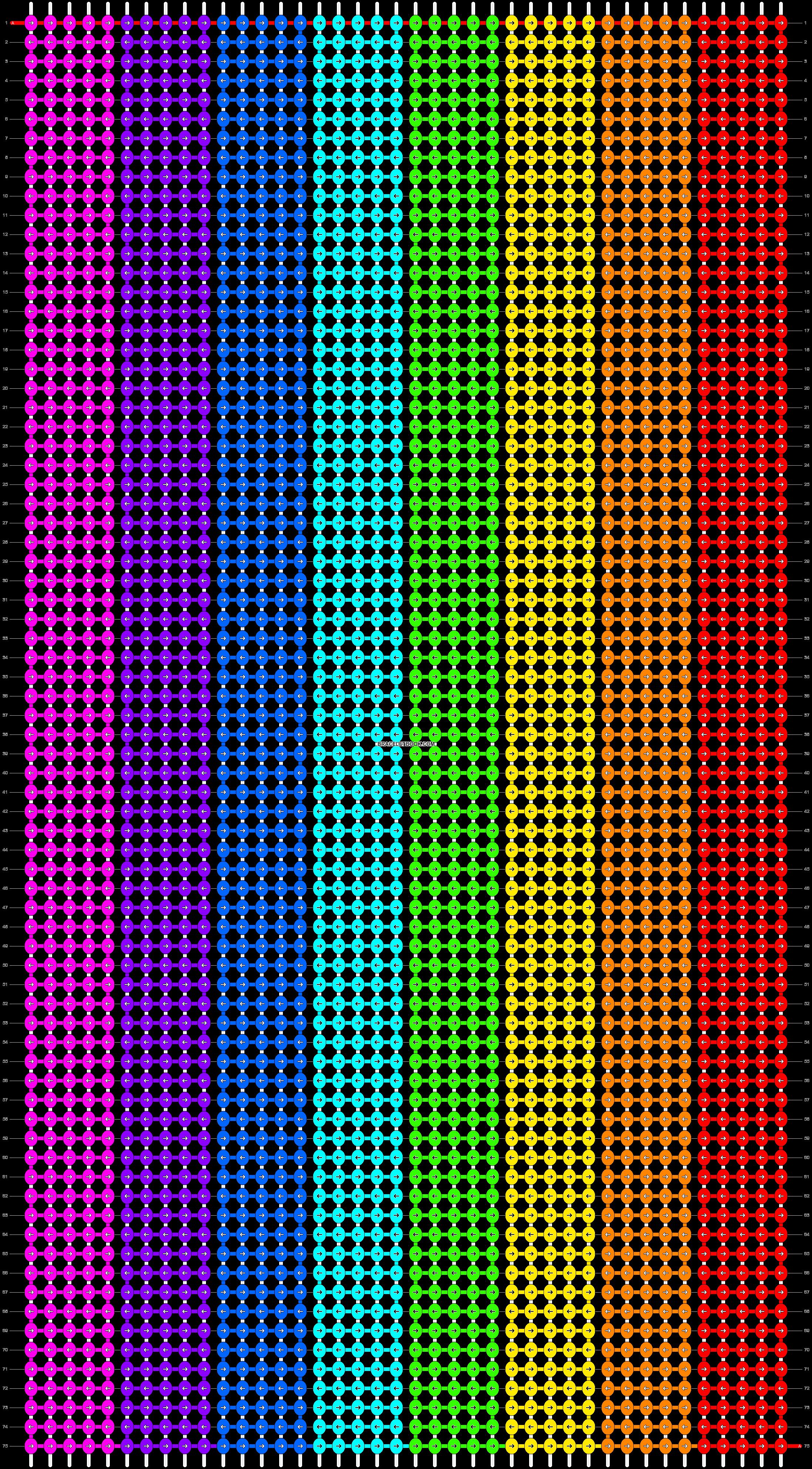 Alpha pattern #9789 pattern