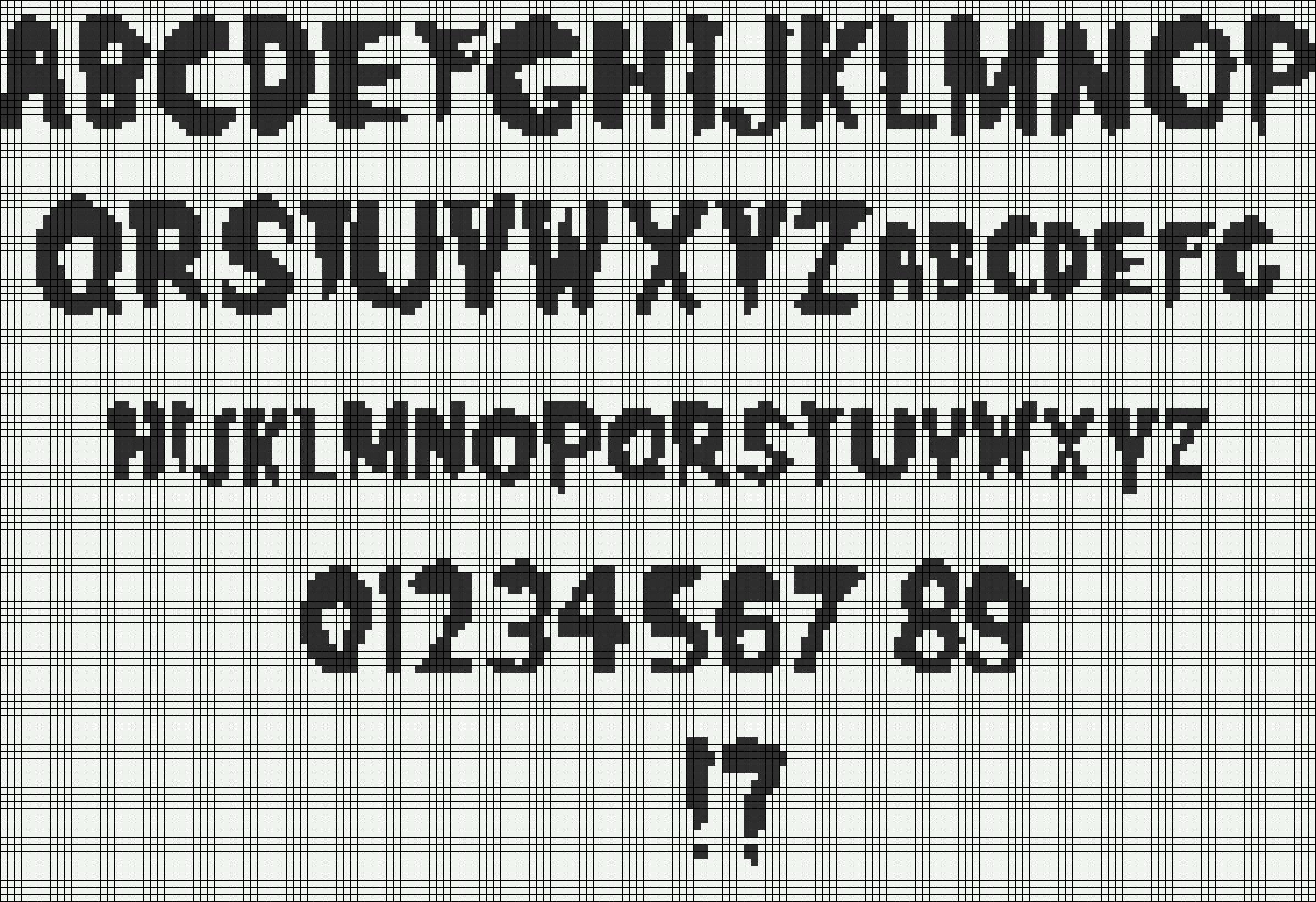 Alpha pattern #9790 preview