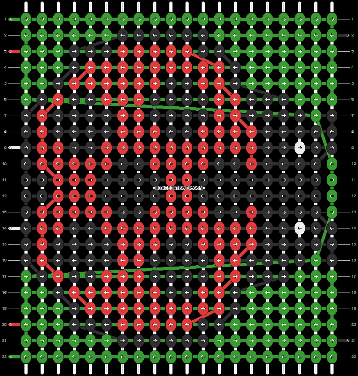 Alpha pattern #9791 pattern