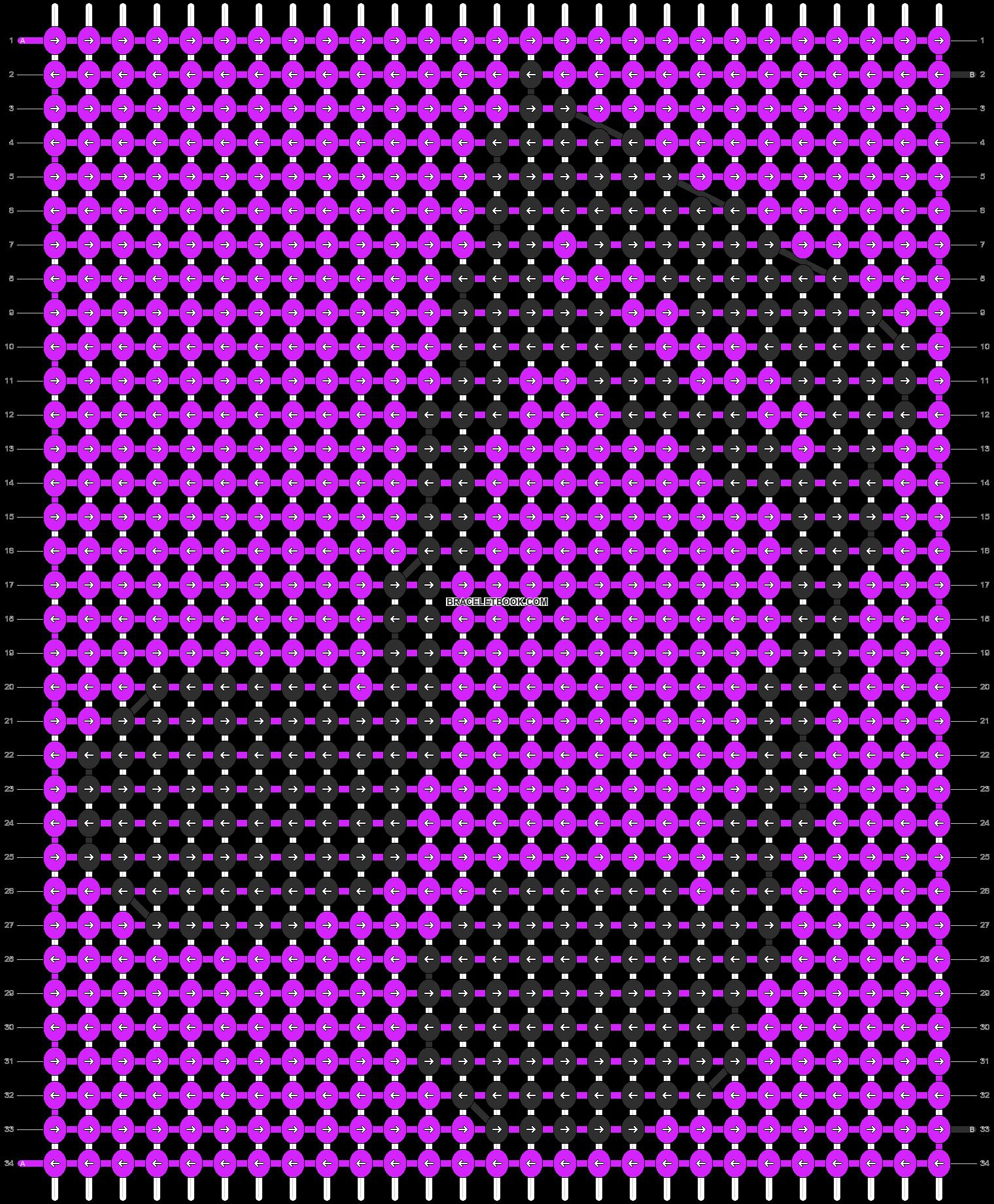 Alpha pattern #9795 pattern