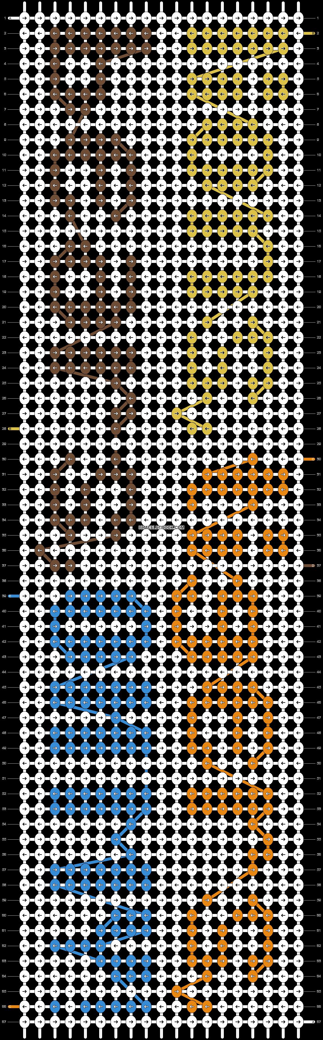 Alpha pattern #9801 pattern