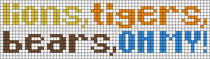 Alpha pattern #9801