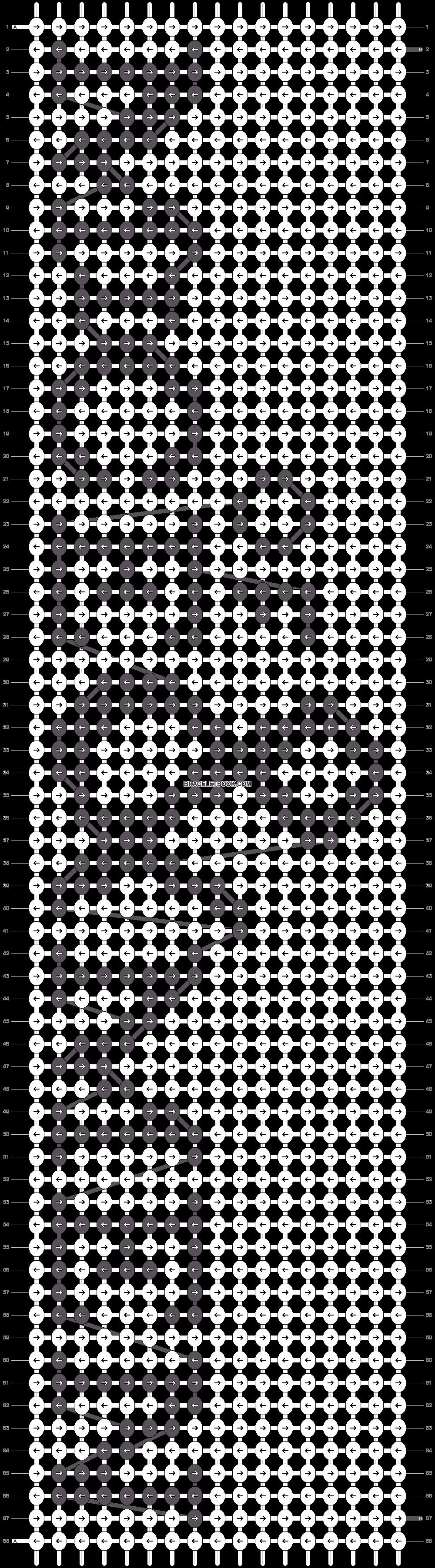 Alpha pattern #9804 pattern