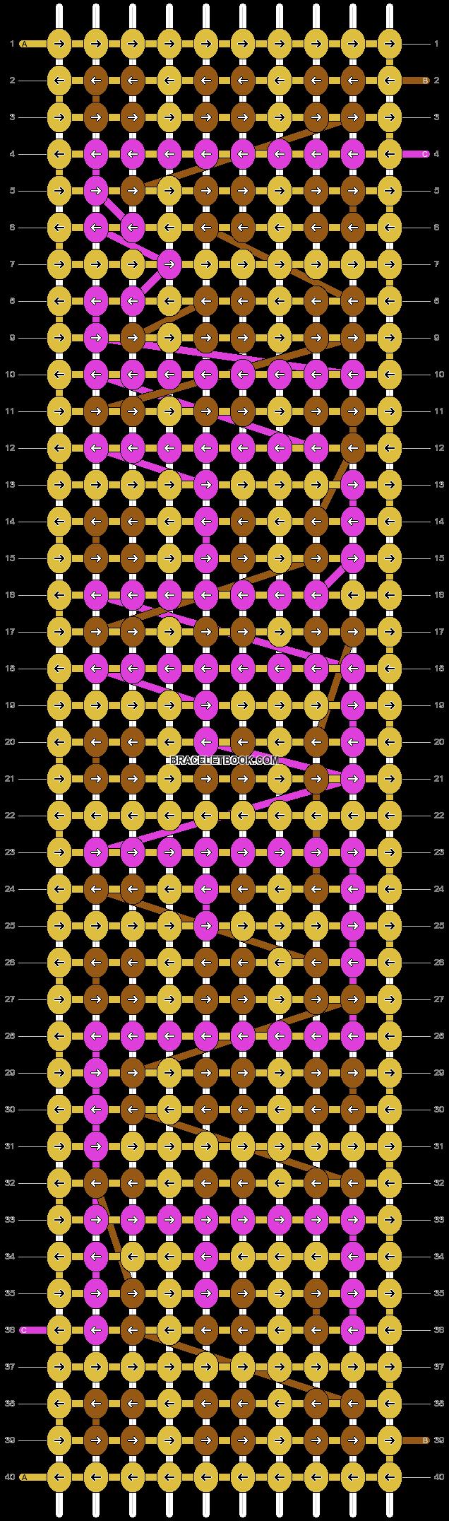 Alpha pattern #9811 pattern