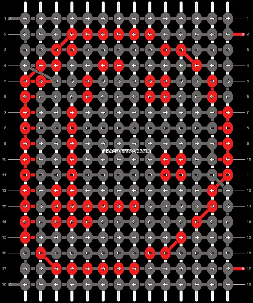 Alpha pattern #9819 pattern