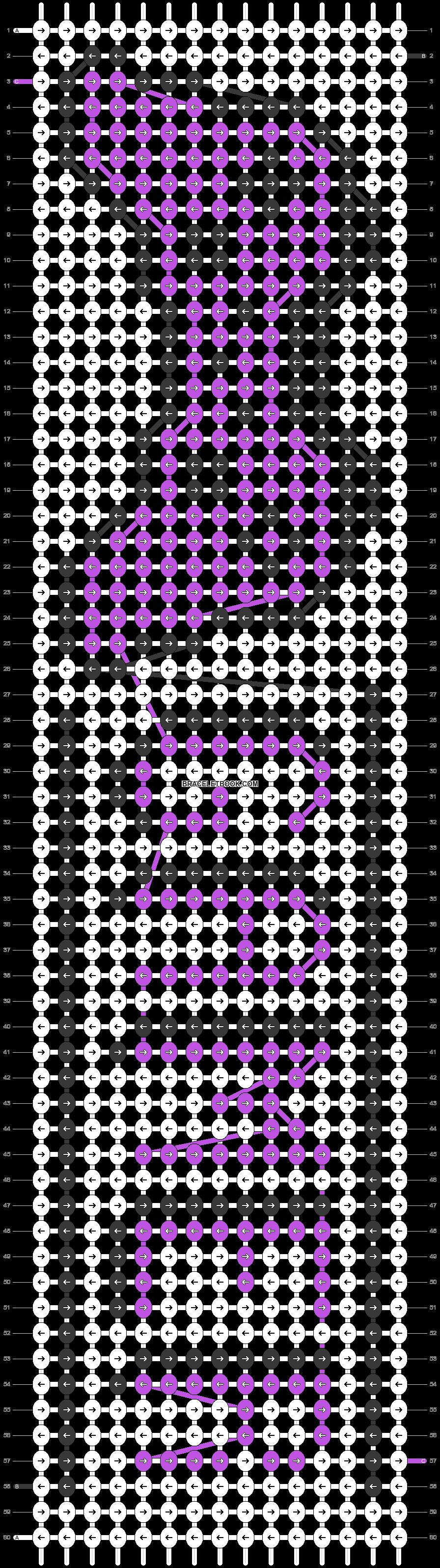 Alpha pattern #9822 pattern