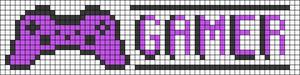 Alpha Friendship Bracelet Pattern #9822
