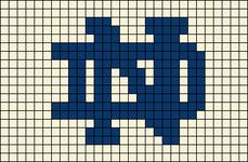 Alpha pattern #9837