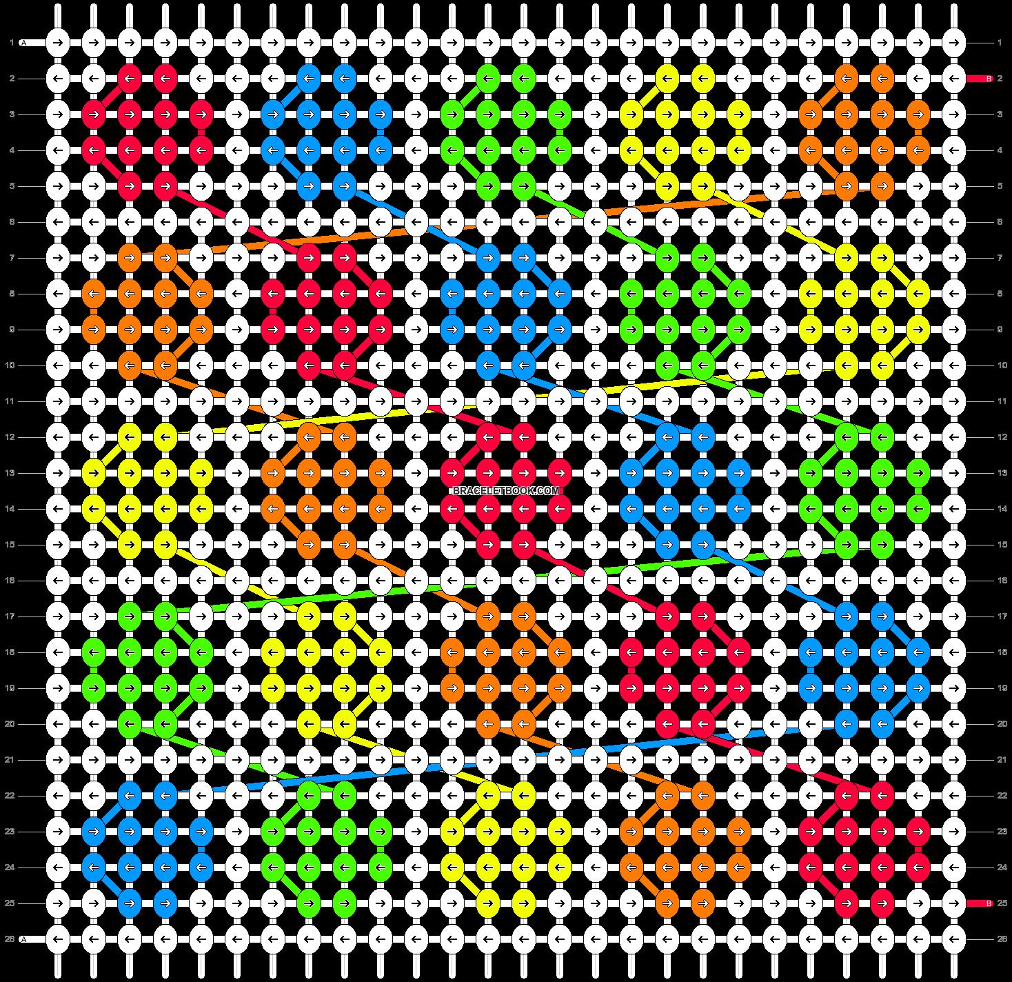 Alpha pattern #9841 pattern