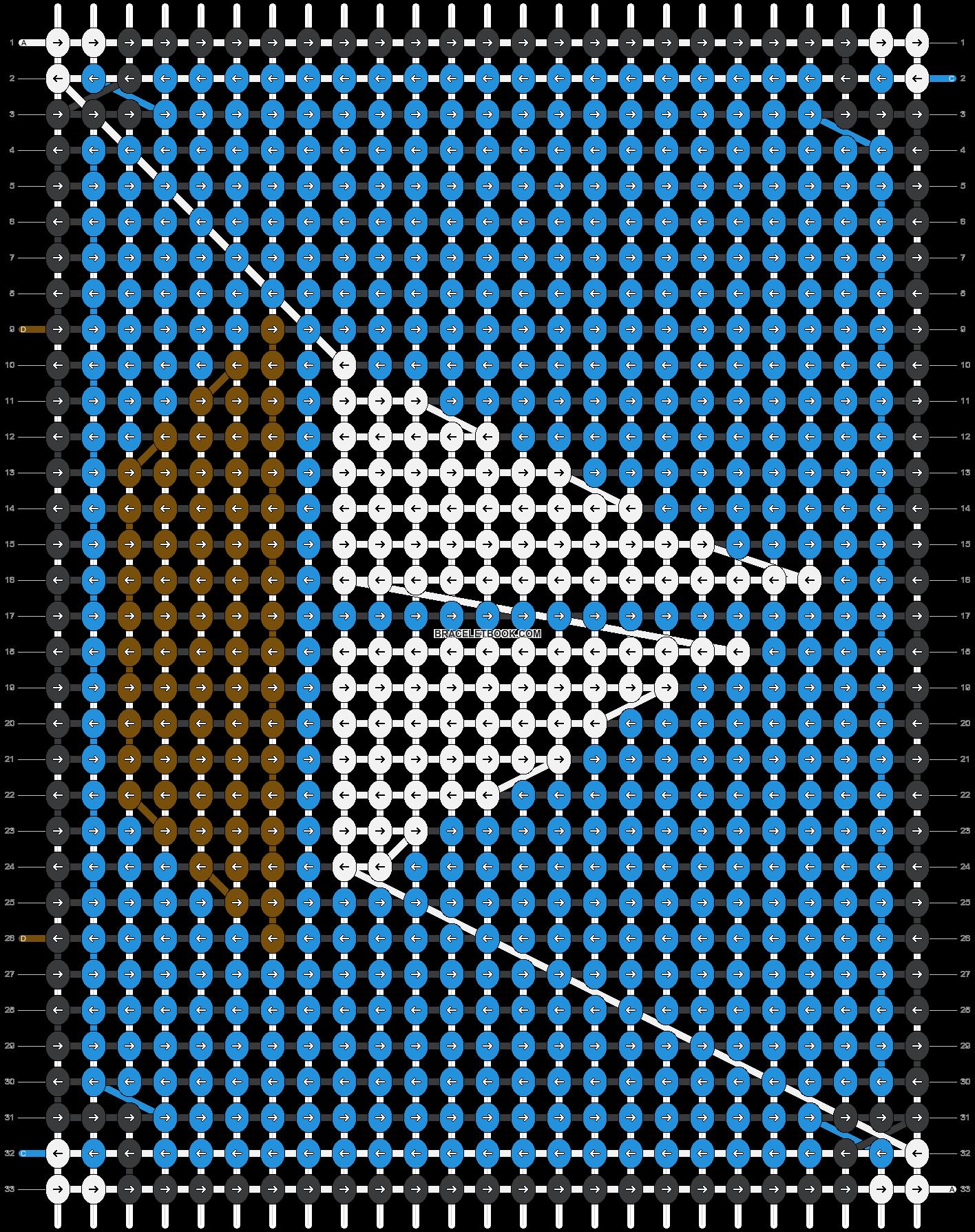 Alpha pattern #9842 pattern