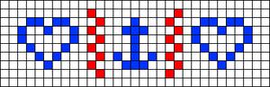 Alpha pattern #9847