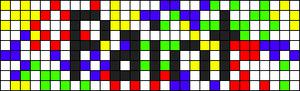 Alpha pattern #9855