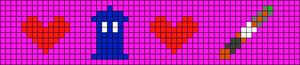 Alpha pattern #9862