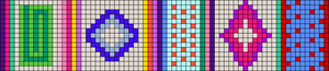 Alpha pattern #9863